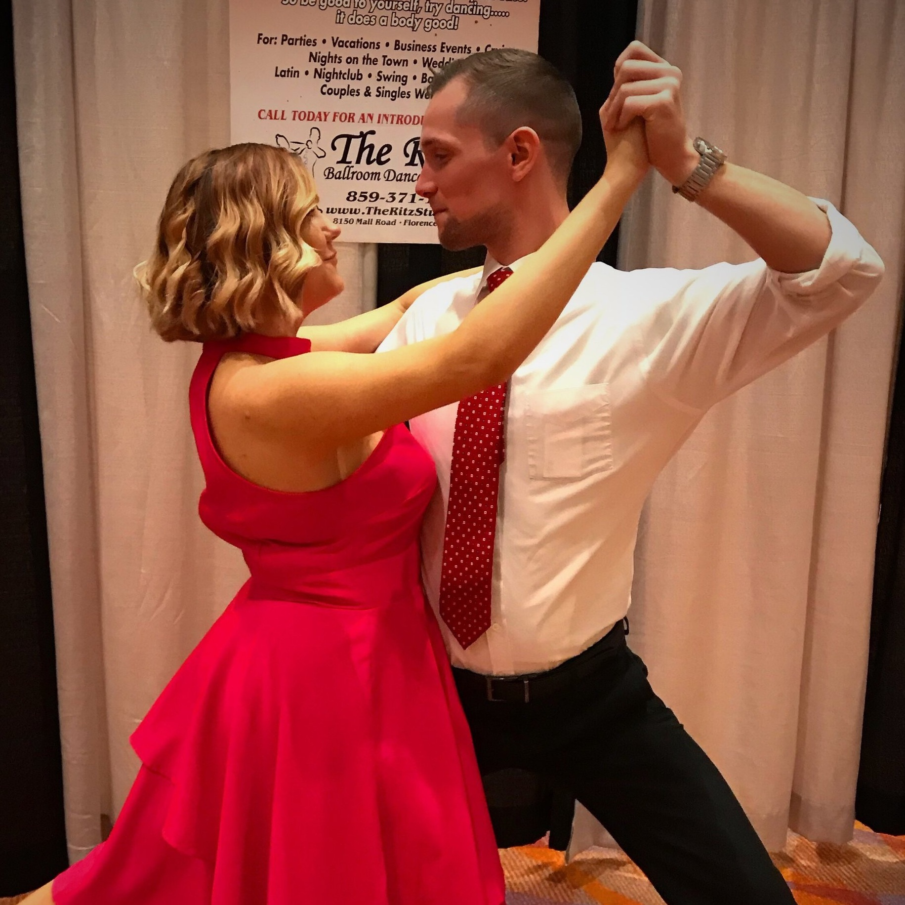 Our Services - No matter your dance experience, age, schedule, or budget we offer classes to fit anyone's dancing needs.Our team is trained and certified with today's most popular Ballroom, Wedding, Latin, Swing, Country, Hip Hop, (and more) dances.