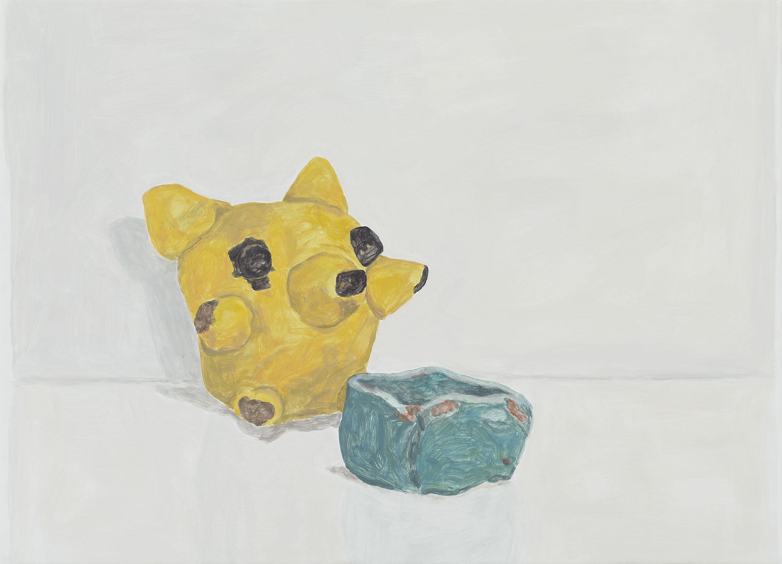 Koala Bear, acrylic on canvas over board, 30 x 41.5 inches, 2018.