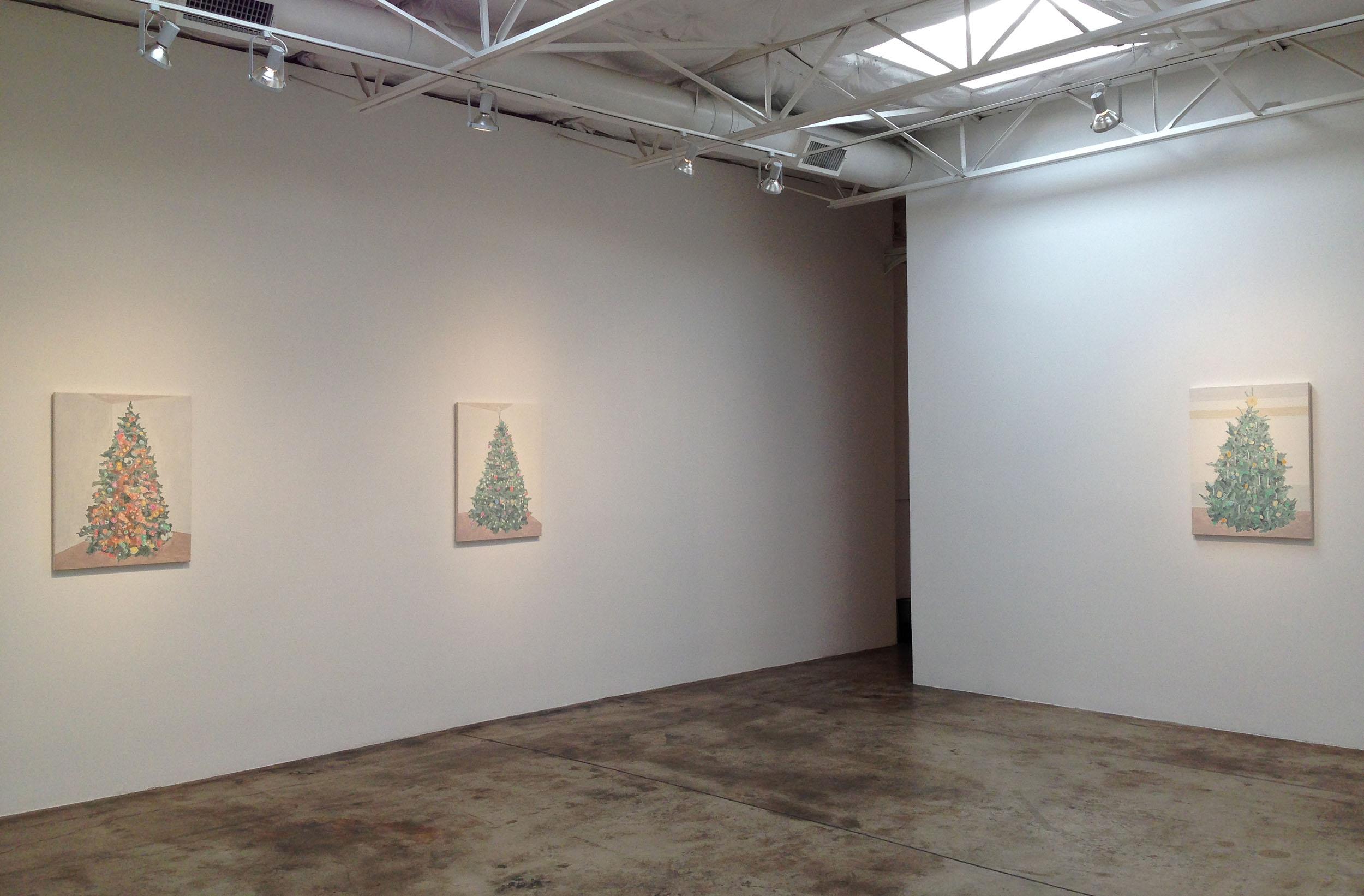 Xmas Trees //  Talley Dunn Gallery, Dallas, TX  // Nov 6 – Dec 19, 2015//