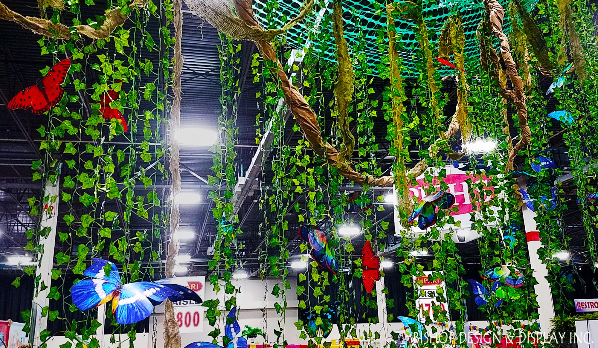 Vine Ceiling Overhangs