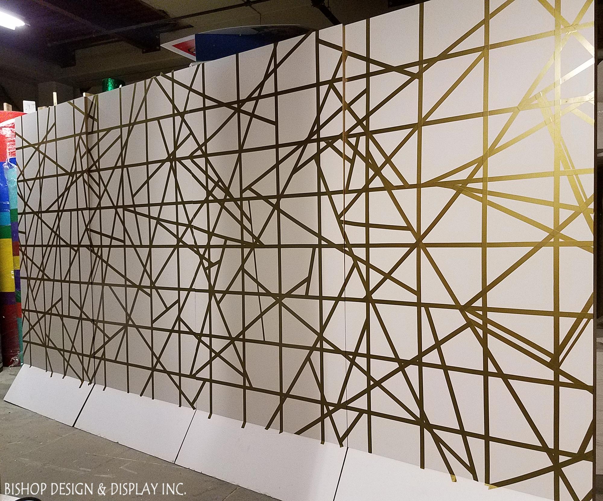 Gold Deco Walls