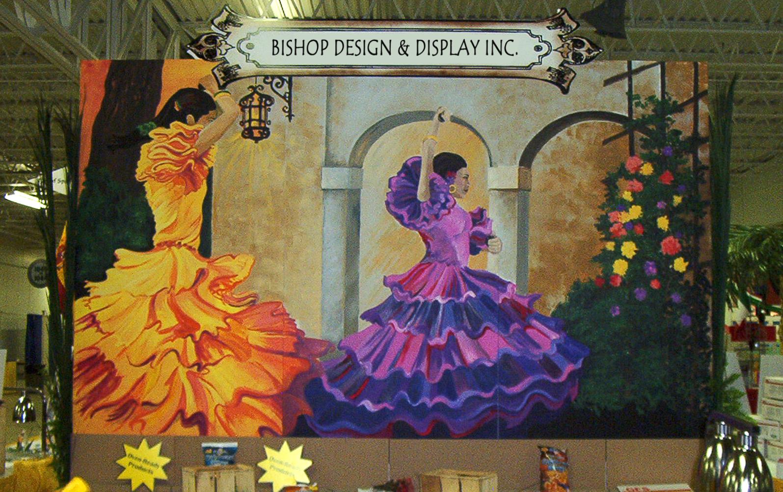 Flamenco Dancers Backdrop