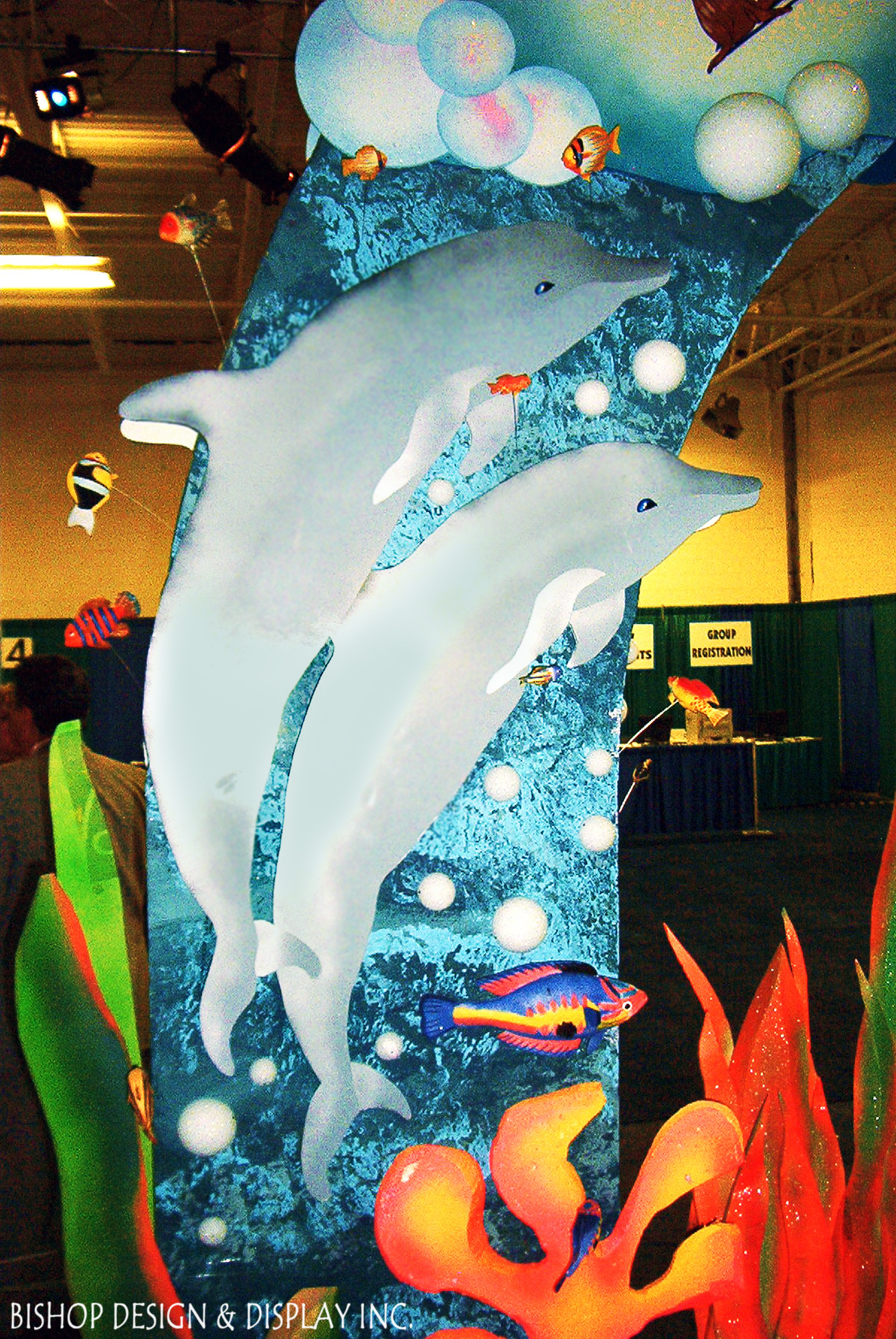 Dolphin stand-ups