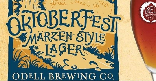 It's the first day of Fall. Come crush some @odellbrewing #Oktoberfest at #rockytoptavern
