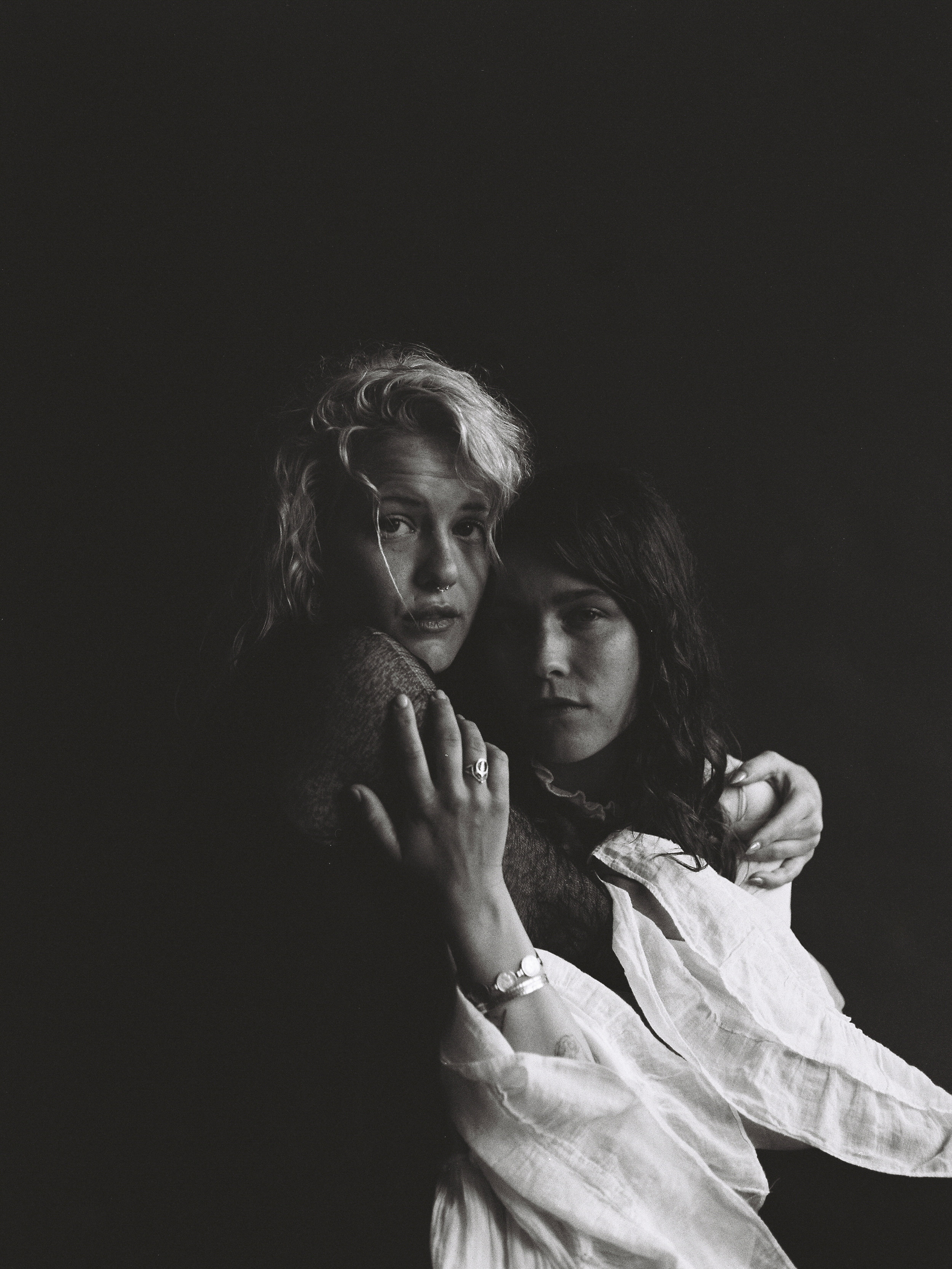 Katherine & Kaitlyn, 120mm Photographs, 2019