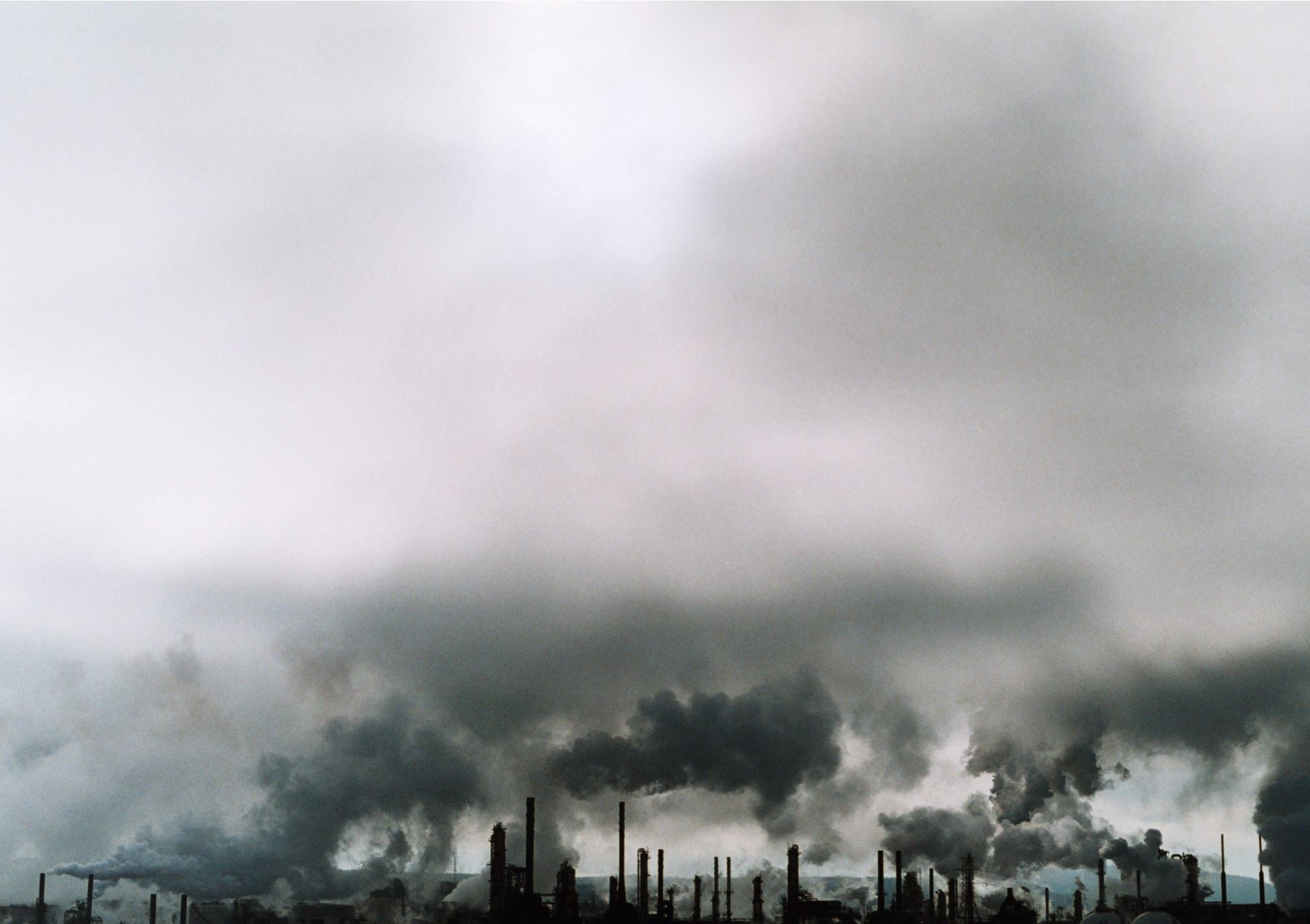 """""""The Irving Oil Refinery"""", 35mm Photograph, 2017"""