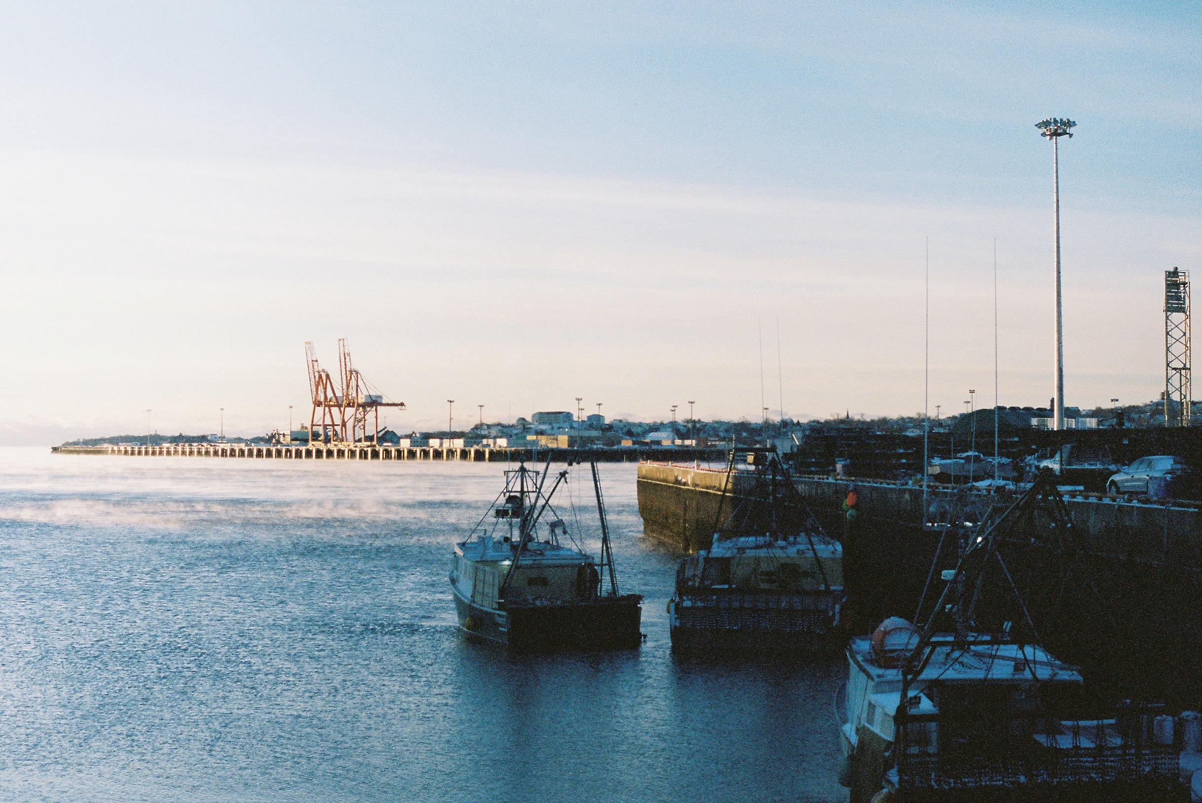 """""""The Saint John Harbour"""", 35mm Photograph, 2017"""