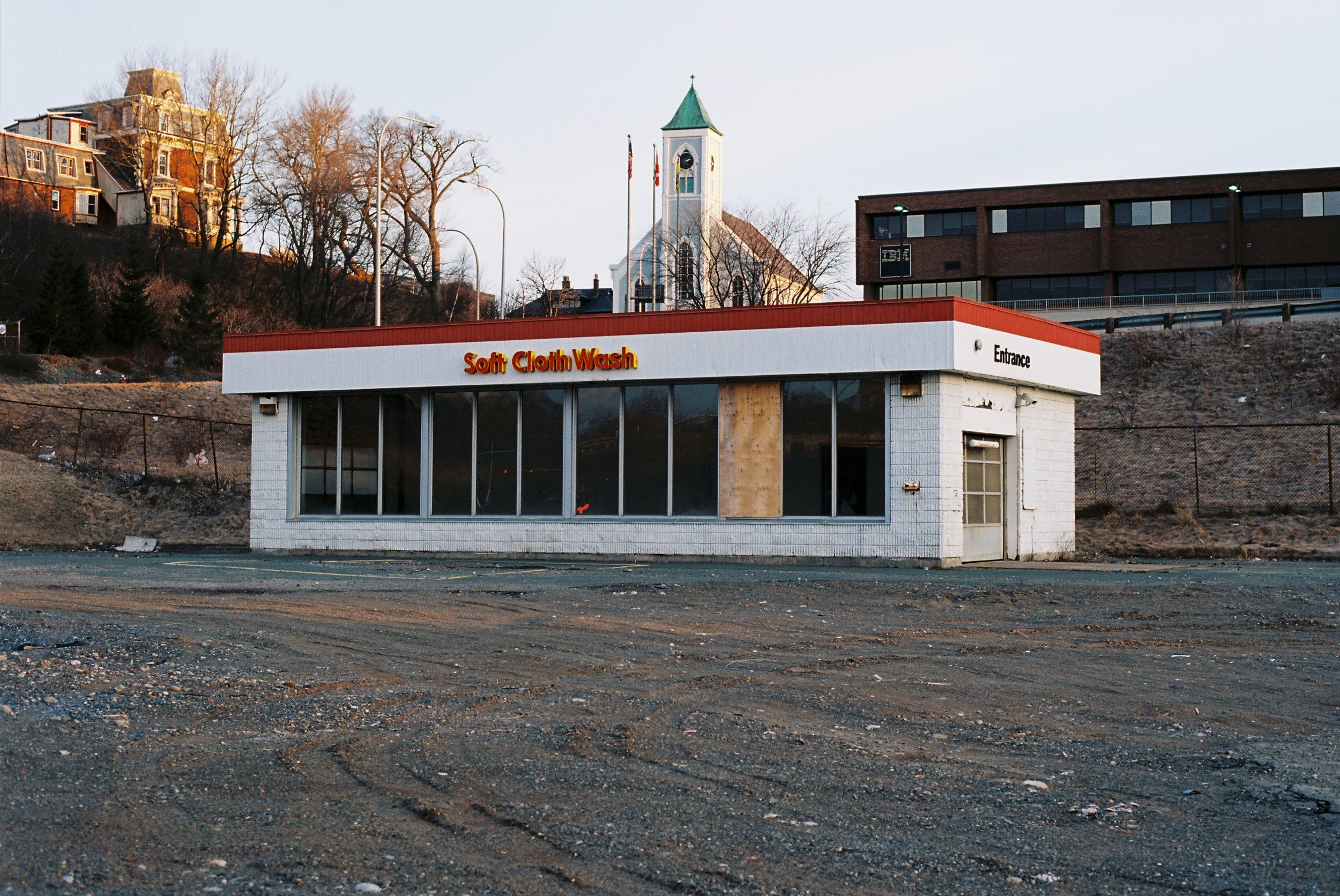 """""""Where The Shell Station Used To Be"""", 35mm Photograph, 2017"""