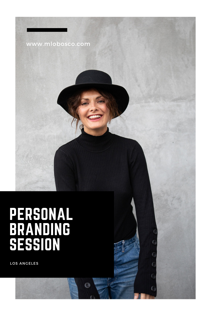 Los Angeles Personal Branding Session | Photography by Michele LoBosco, LA branding photographer