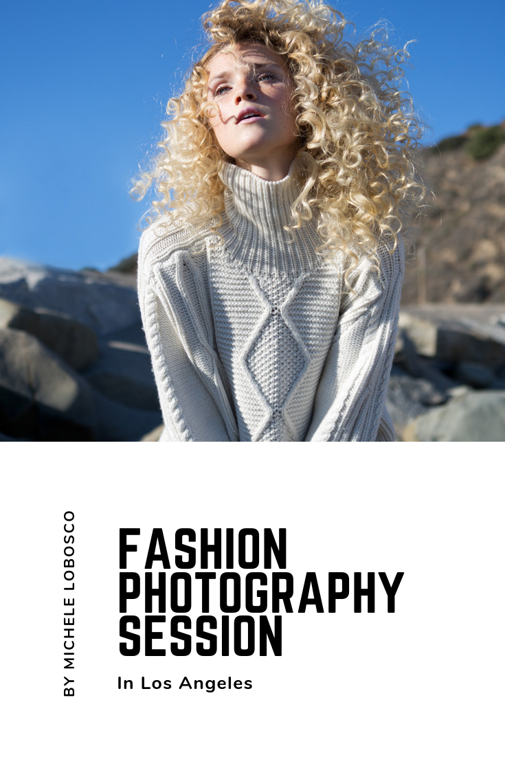 Fashion photography session in Los Angeles by Michele LoBosco Photography | Styling by Annie and Hannah, makeup by Tammy Yi, Hair by Stephanie Bryn and Model Nikki Alexa