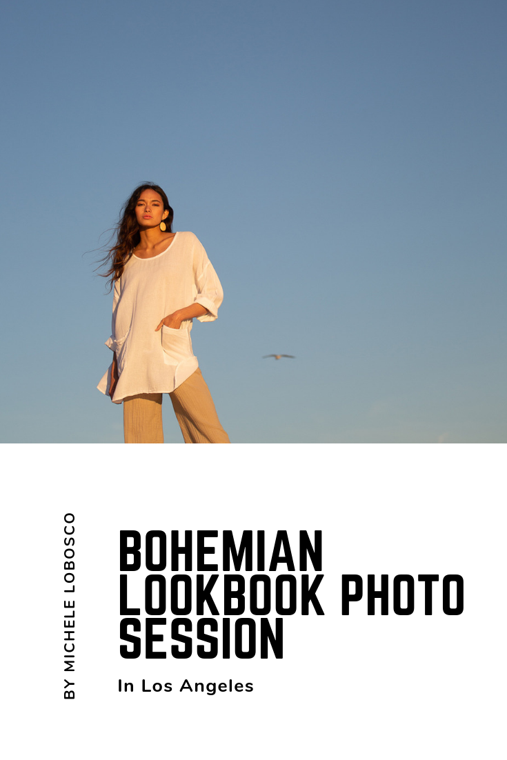 Los Angeles Bohemian Lookbook Photo session by Michele LoBosco