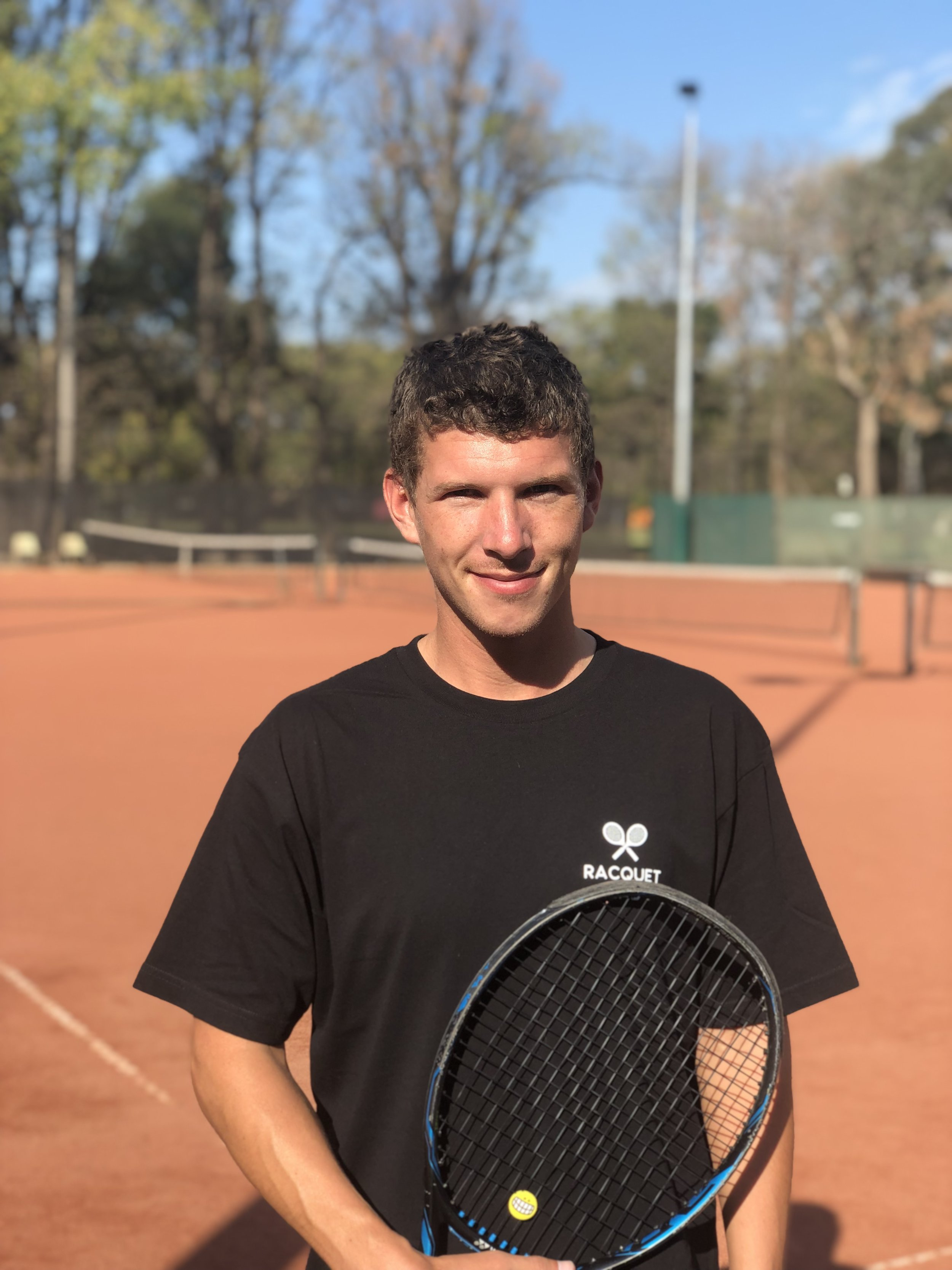 Emile Blosfelds-Morrison - Emile is a Tennis Australia Junior Development coach and is currently enrolled in the 2019 Club Professional course. He spent 2017-2018 coaching full-time at Bishops Park in London, England.Favourite player : Alex De MinaurFavourite tennis moment : Playing with a Wimbledon doubles semi-finalistFavourite other sport : Soccer