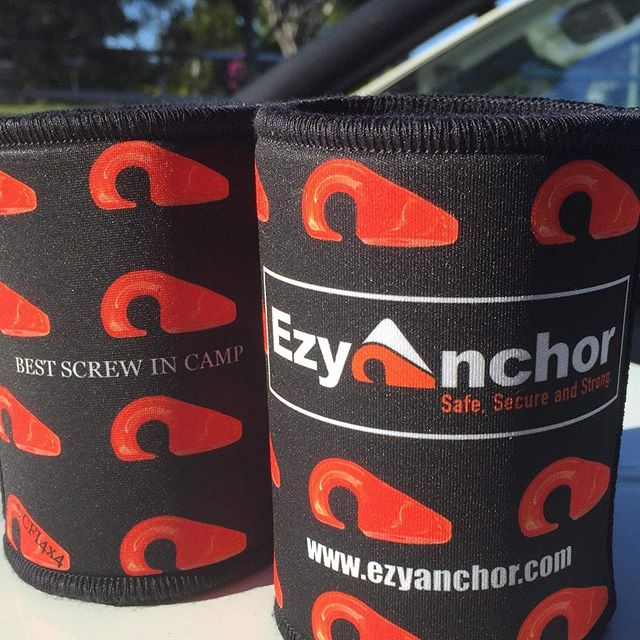 NEW stubby coolers! Check out the lastest addition to @ezyanchor range! How good do these stubbie holders look?  If you would like to get your hands on these or any of @ezyanchor products make sure you head over and check out there page and website. @cant_fault_it_4x4  #ezyanchor #cantfaultit4x4 #4wdaustralia #brisbanepromo #stubbycooler #brisbanemarketing