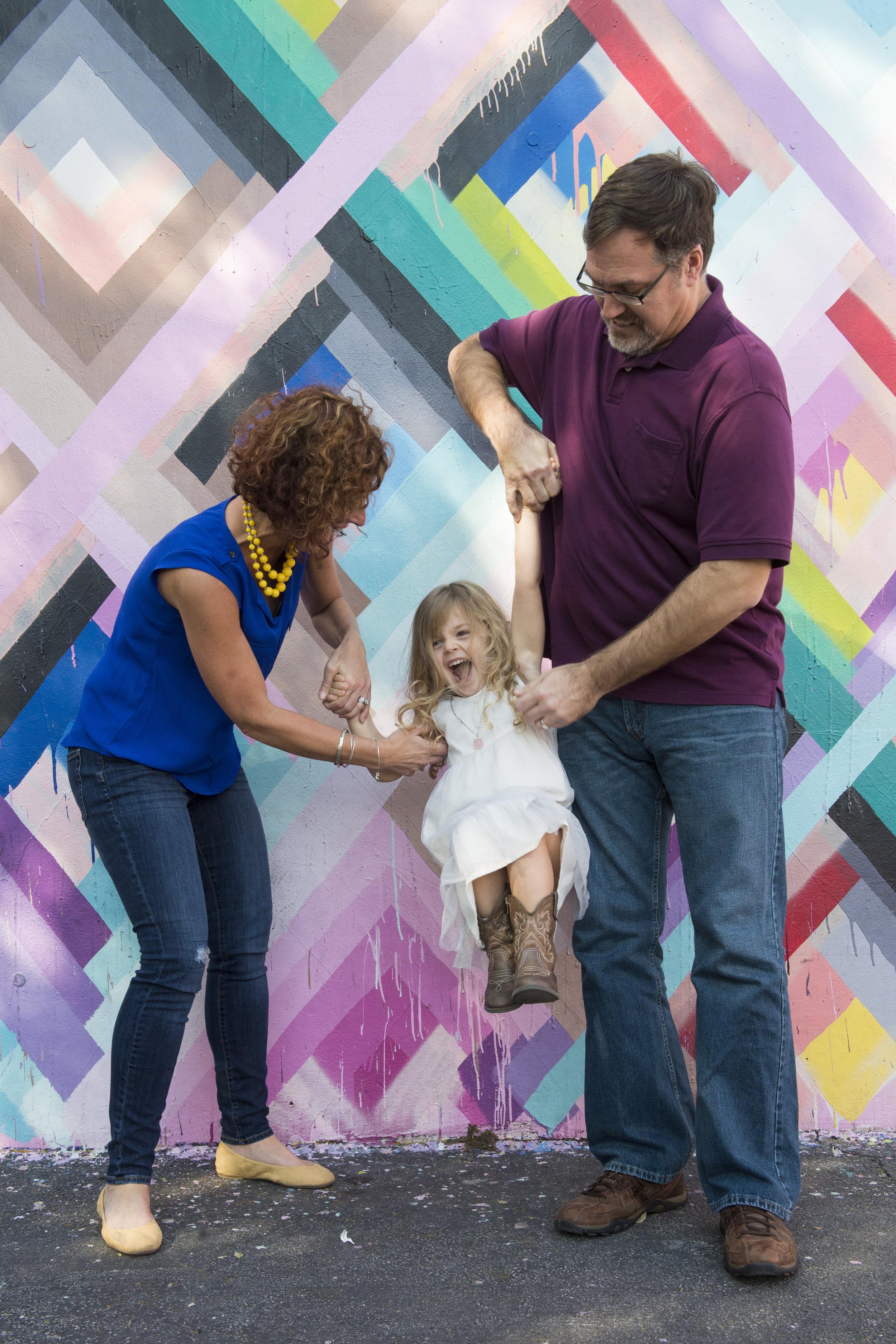 Family Photographer Wynwood Walls Miami