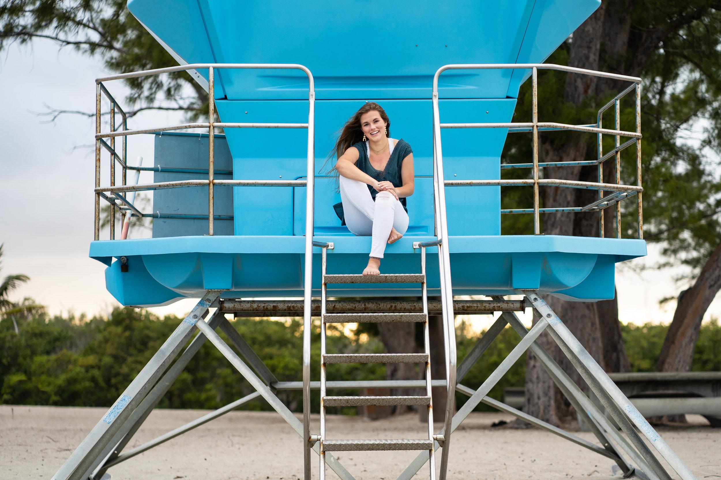 Senior Girl Photos Dania Beach Pier | Hollywood Photographer