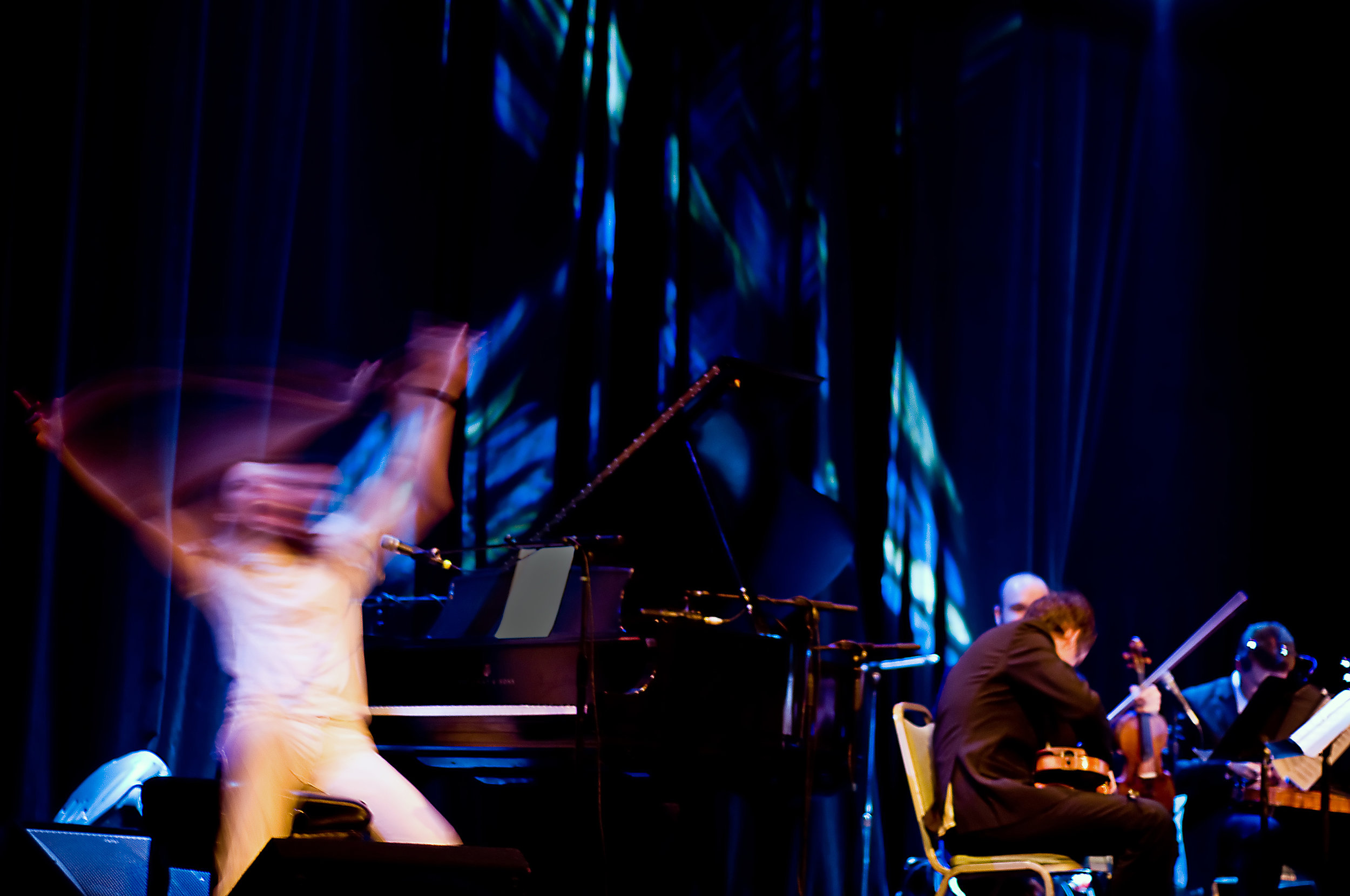 Andrew WK & Calder String Quartet, 2009