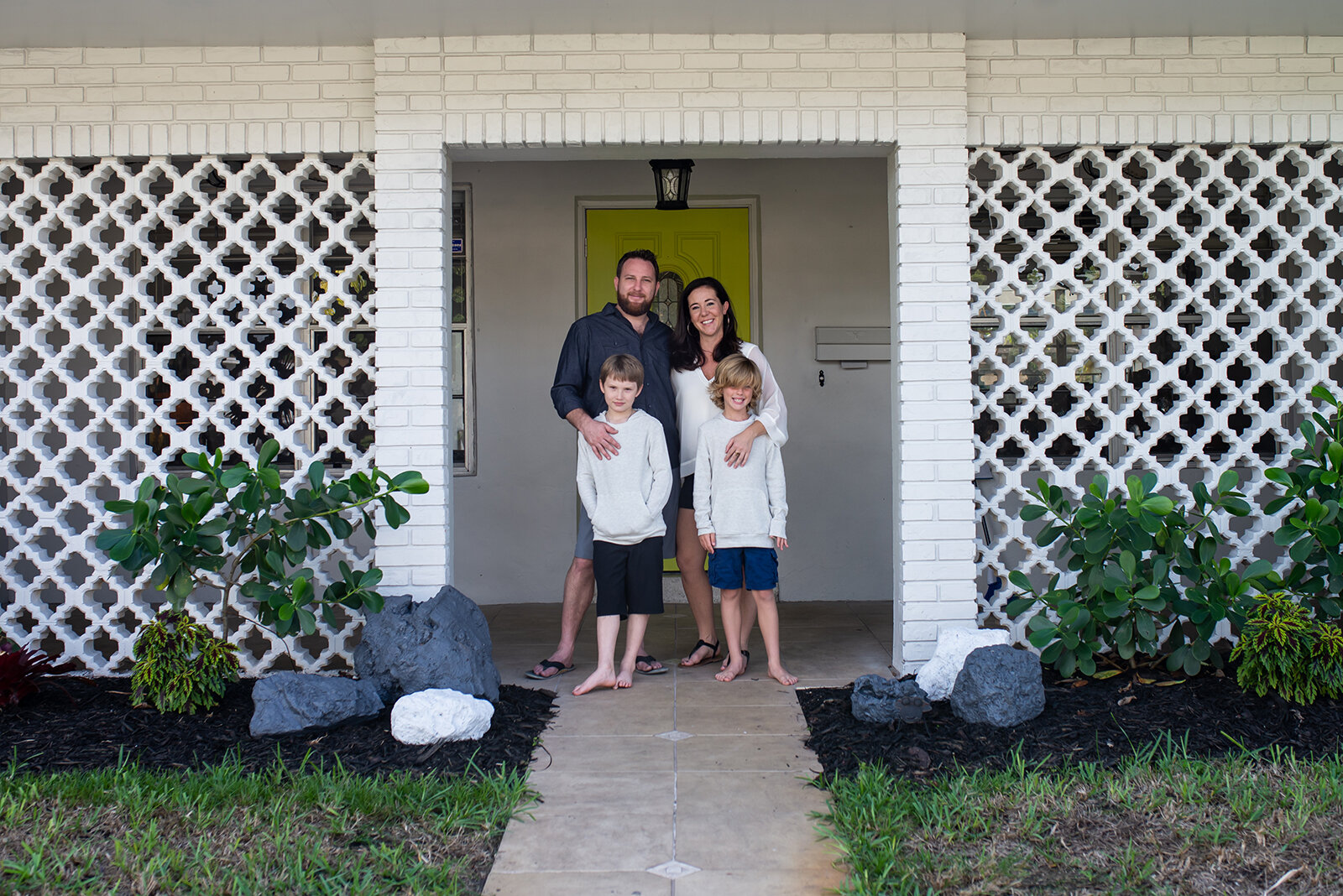 New Home Family Photography Plantation