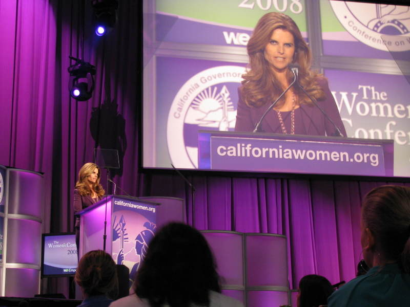 California Women's Conference - 2008 and 2009, Long Beachclient: California Protocol Foundation and Jupiter/PX Productions