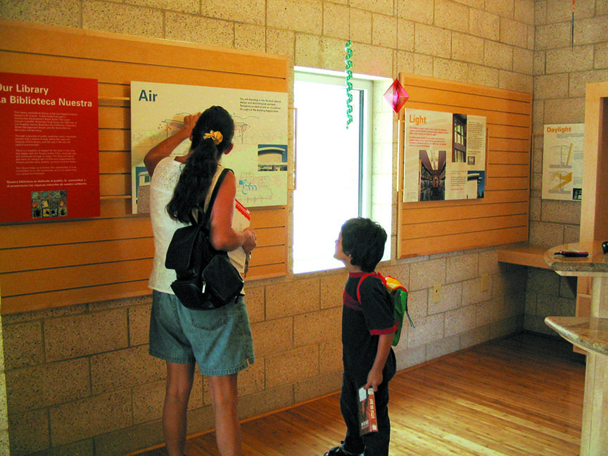 Lakeview TerraceBranch Library Exhibit -