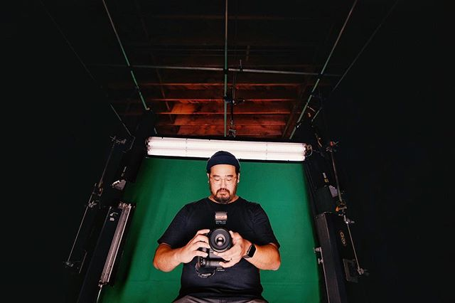 Our first 20'x30' green screen lit in the new studio. #getlit #videoproduction #filmmaker #sandiego #contentcreator #studio