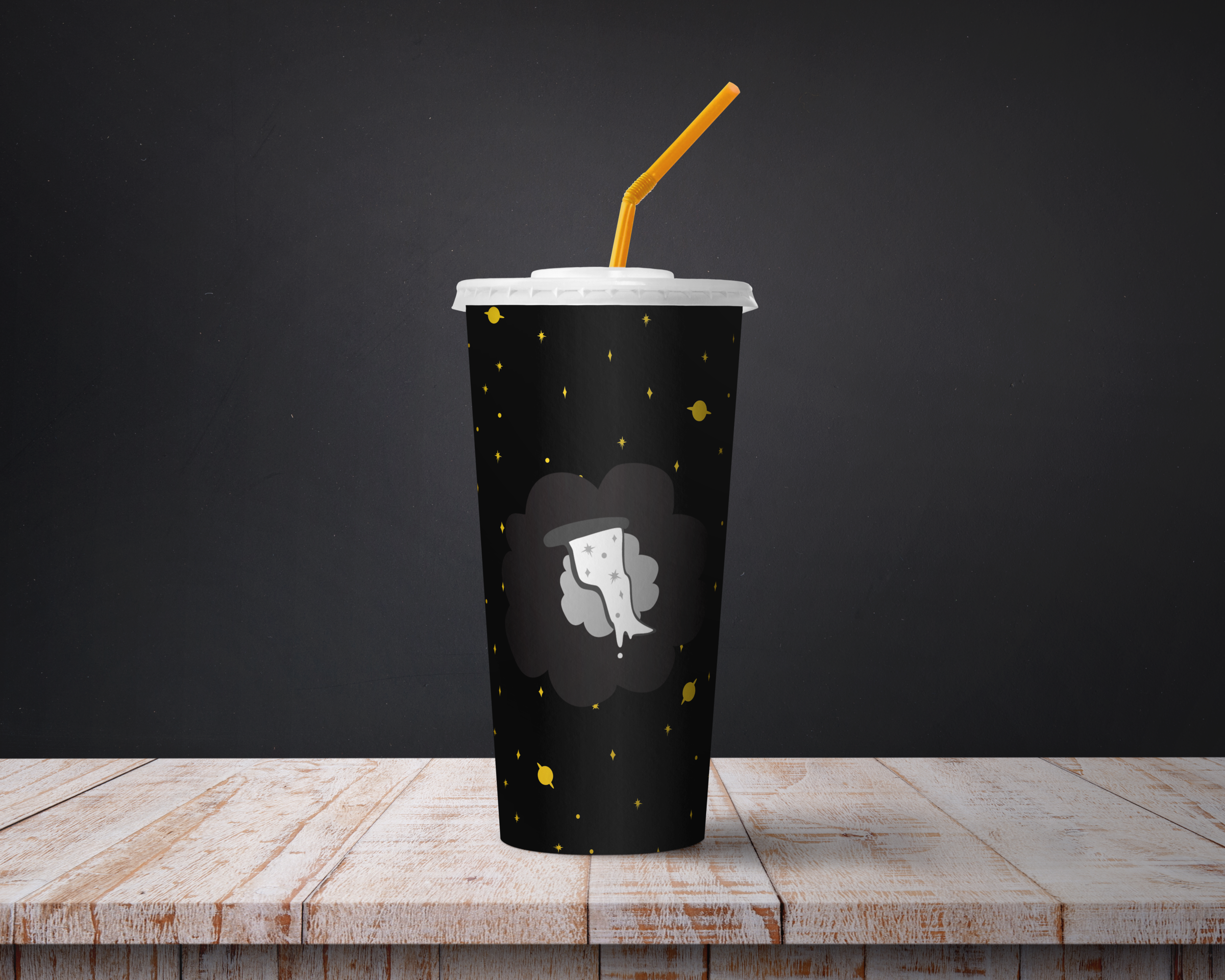 Drink takeout cup
