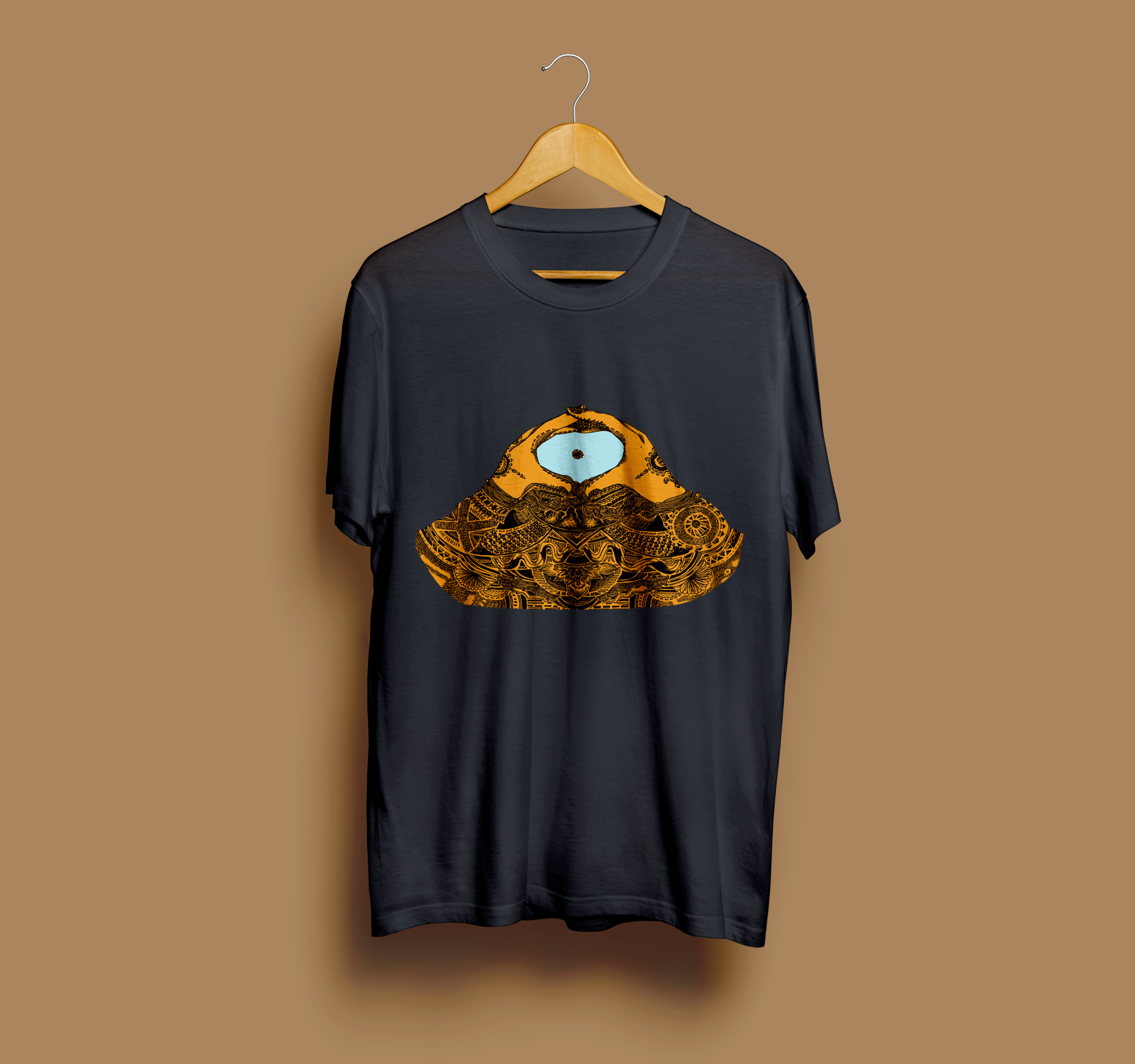 Album t-shirt (black)