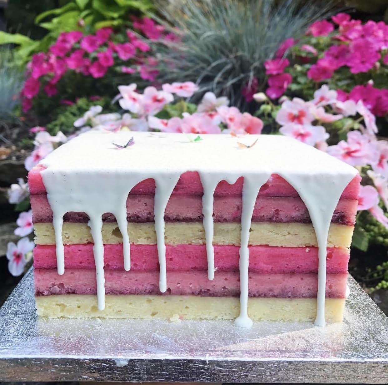 Custom Rainbow Cake