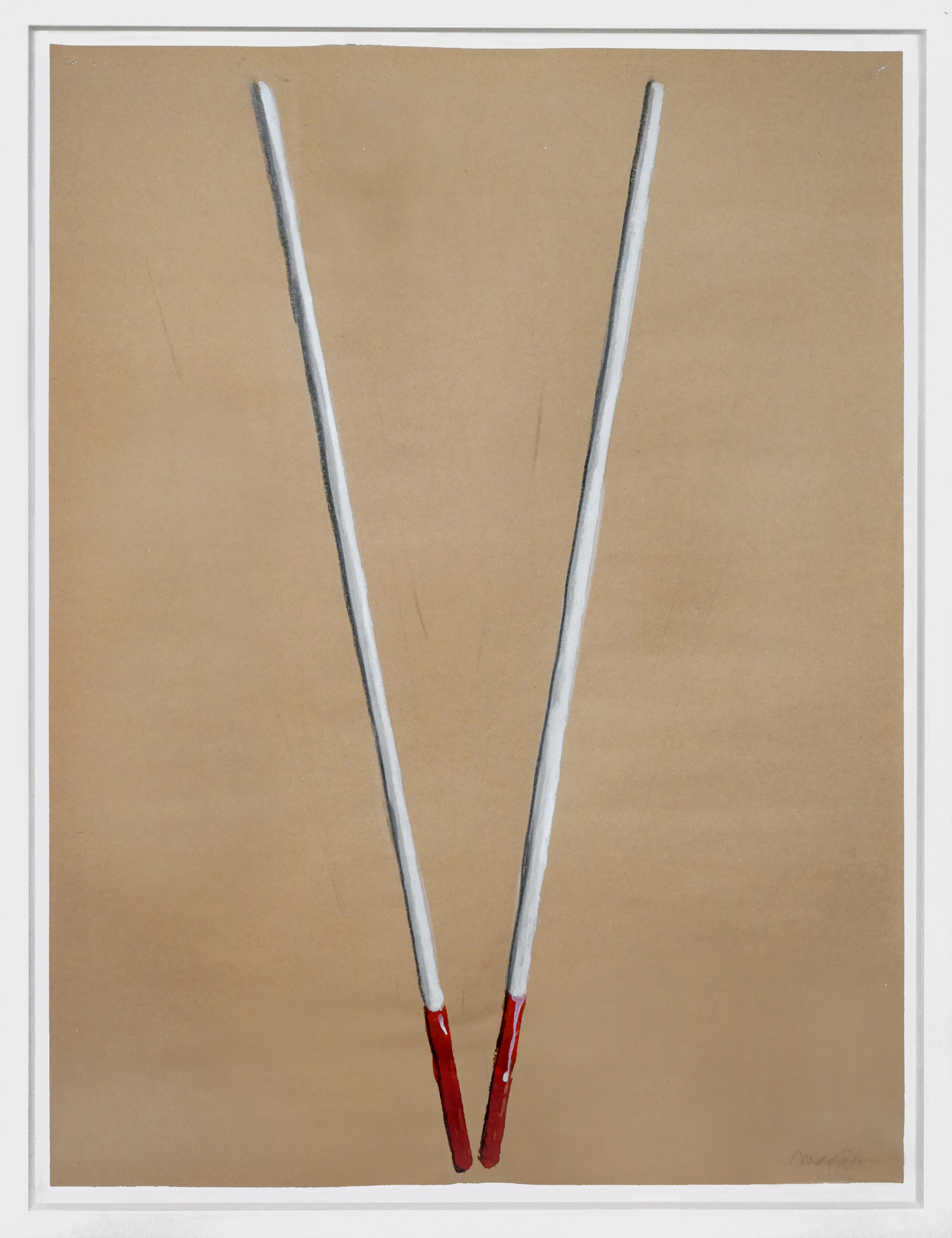 Untitled, (blind cane series), 1996