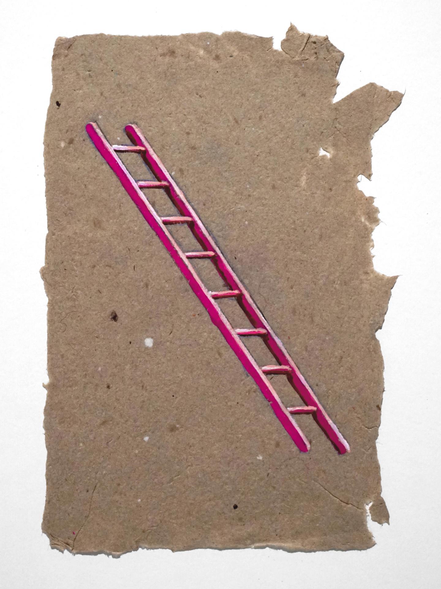 Untitled (pink ladder), 2010