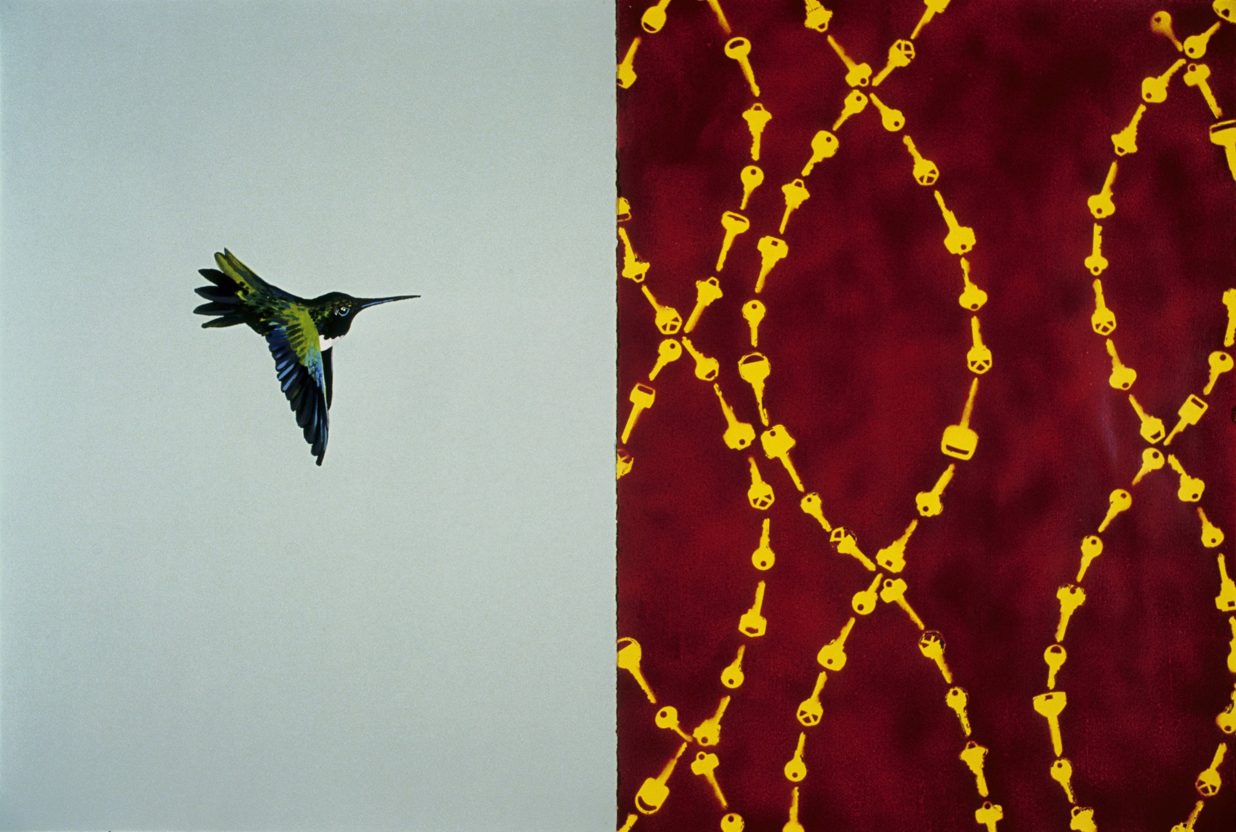 Untitled diptych, 2000
