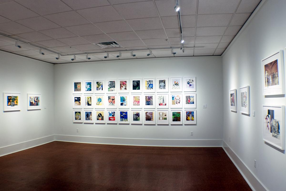 Galveston Art Center installation, 2018