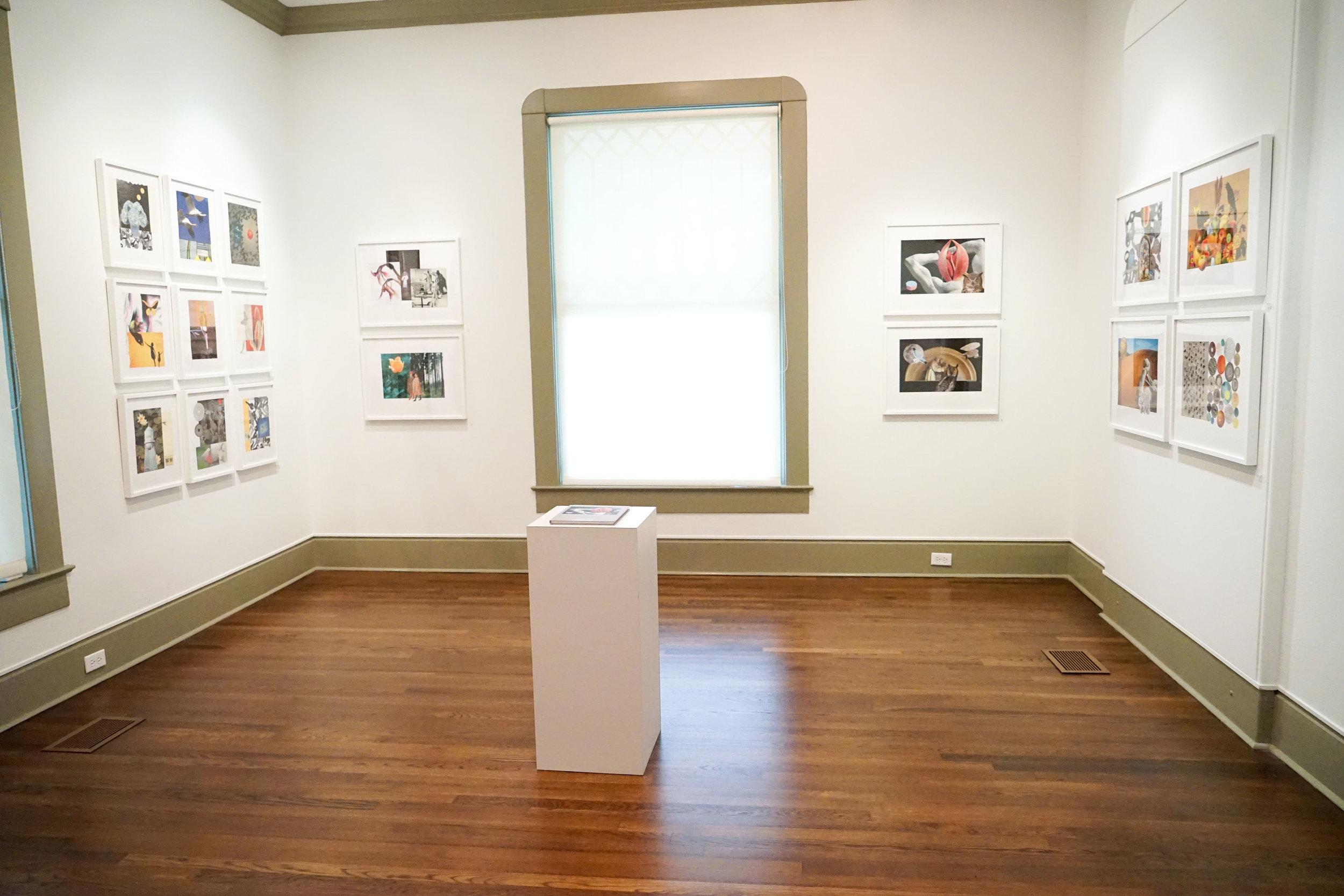 Beeville Art Museum installation, 2018