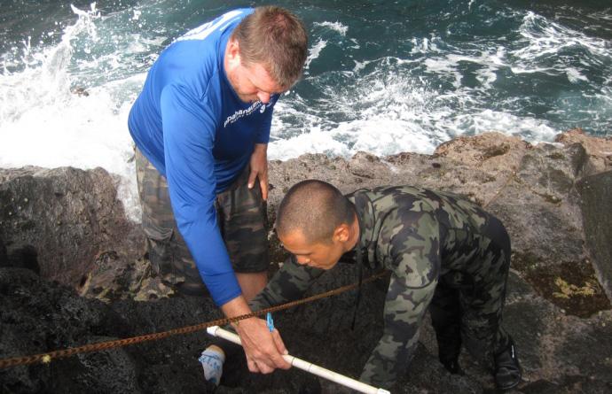 Intertidal monitoring Cruise. 2010 @ Papahanaumokuakea Marine National Monument