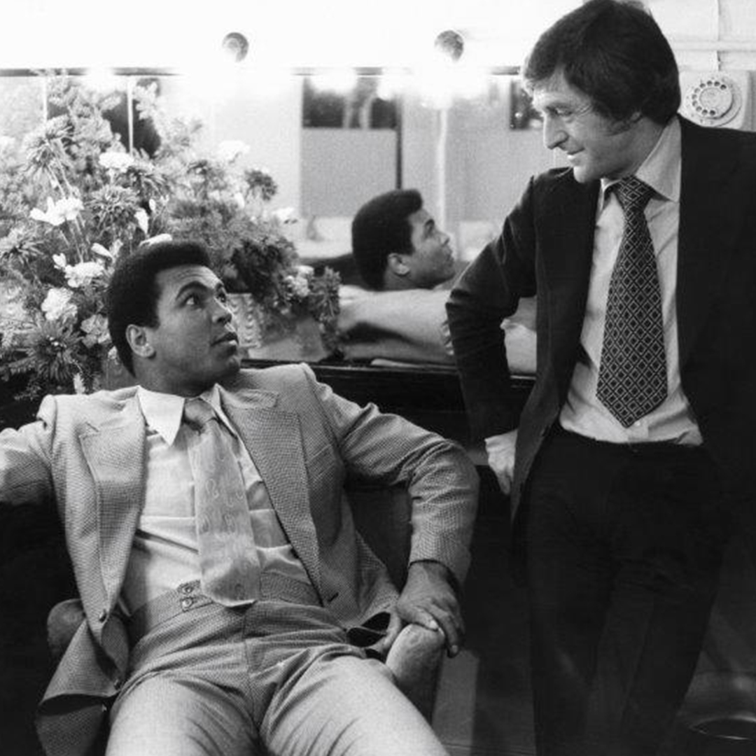 Sir Michael Parkinson and Muhammad Ali