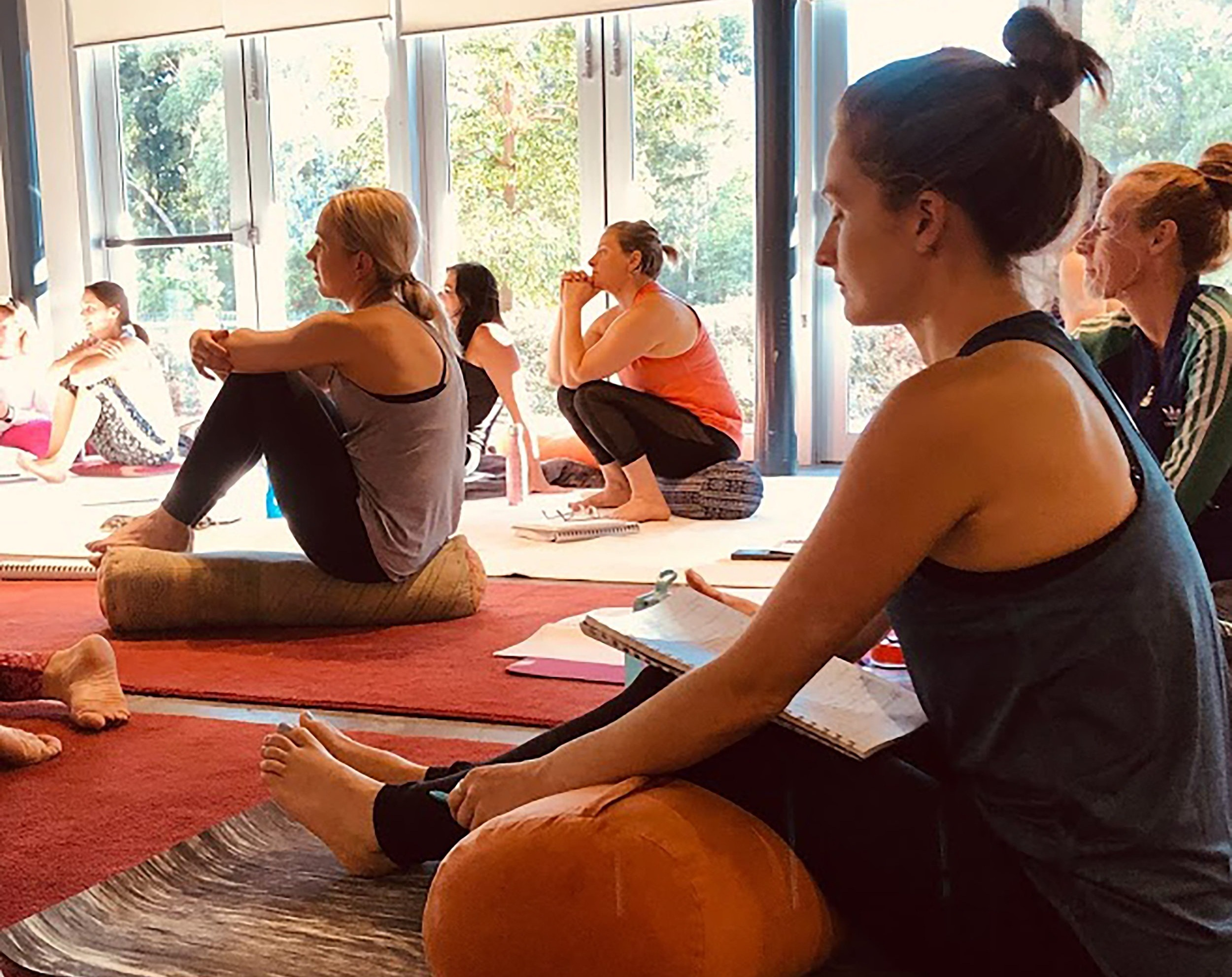 Courses - For those who are seeking to empower others, learn about what Shantarasa Yoga can do for you. We offer a wide range training possibilities.