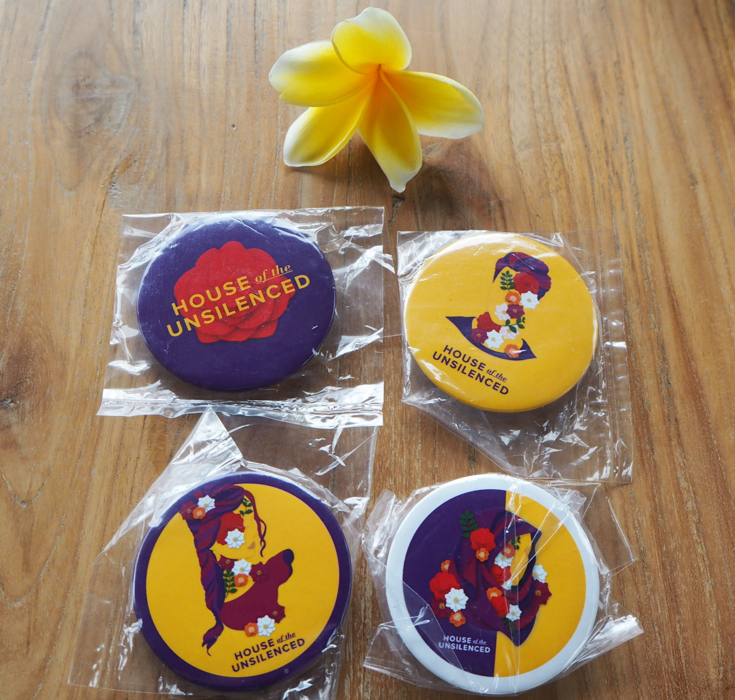 Pin House of the Unsilenced: Rp 15.000
