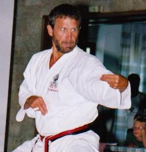 Shihan Hanshi (mästare) Ingo de Jong 8dan