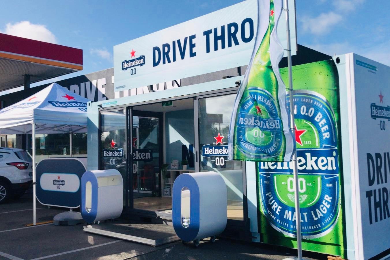 Heineken 0.0% Drive Thr0.0 - Drive-through Experiential Activation for Festival-goers