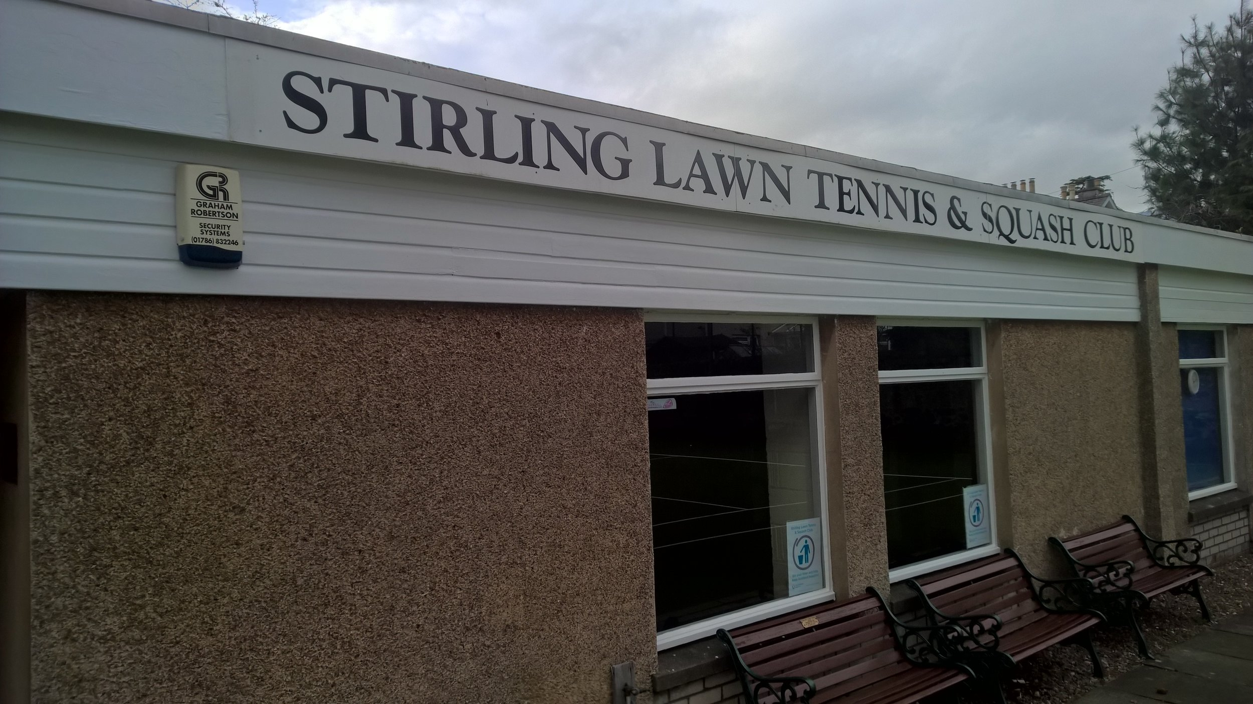 About the Club - sTIRLINNG Lawn tennis and squash club is a membership only club