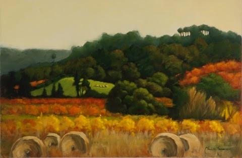 Toward Villars (Luberon Valley)