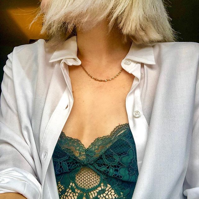 (Absolutely delighted to be off work today as I smugly listen to the thunderstorm from my bed ⛈) I've been obsessed with lacy bodysuits lately and got the inspo to pair mines with a white shirt for dinner lately after seeing @loulabxlle do it on her insta and it looked sooo good. I'm putting myself on a spending ban for all of July so need to try and get creative as possible to stop myself venturing in to the shops... pray 4 me. . . . . . . . . . . . . #glasgow #ukblogger #scottishstyle #scottishblogger #bblogger #bloggershare #lbloggers #beautyblogger #thatsdarling #followback #blondegirl #glasgowstyle #f4f #glasgowblogger #love #igers #platinum #l4l #lfl #styleblogger #mondaymotivation #prettylittleinspo #outfitinspo #discoverunder10k #instamood #discoverunder5k #girlsofinstagram #beautyaddict #fashiondiaries #bloggerlife