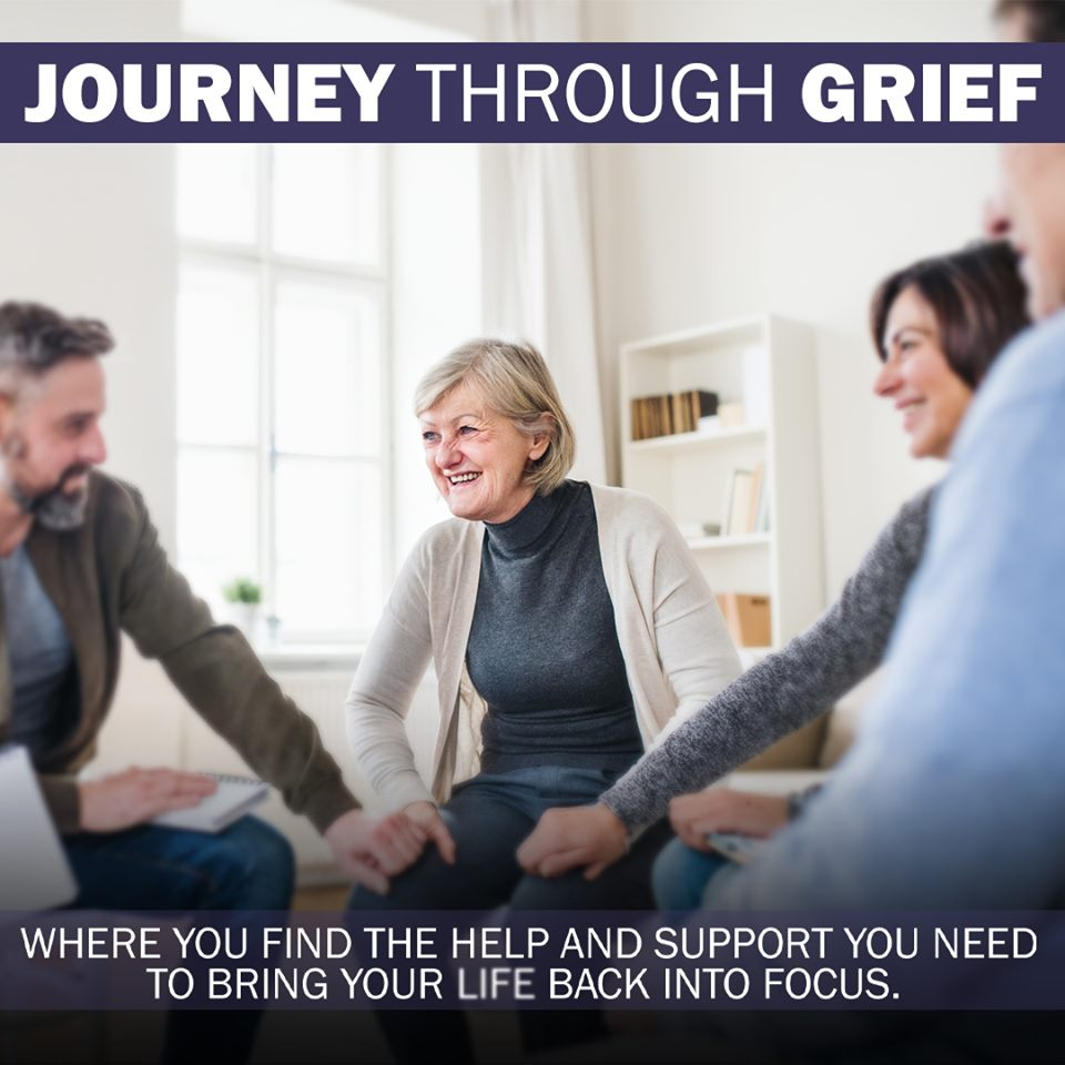 "It is often said that each journey begins with a single step. This is certainly true of a grief journey. We invite you to begin attending the  Journey through Grief  group  every other Tuesday  evening at 6:30 pm.  Childcare is available  and each group is ""self - contained"" so there is no need to worry about missing one. You will find help and encouragement whenever you choose to begin. Questions? Contact Bonnie Dickey at bonniejeandickey35@gmail.com. The next meeting will be September 17.   Men, women Couples, Singles Children welcome Tuesday evening"
