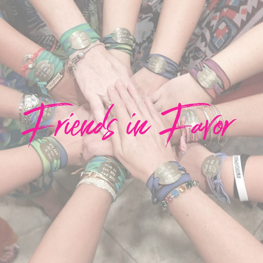 Friends in Favor  with Wendy Brunke meets  every other Tuesday  at 7 p.m.,  starting September 24 . The location is 4888 Lost Creek Shelby Rd in Casstown. No childcare is available. Be a part of women loving, encouraging, and empowering each other, God's way. More info? Contact Wendy at  brunketw@frontier.com    Women only NO Childcare Tuesday evening