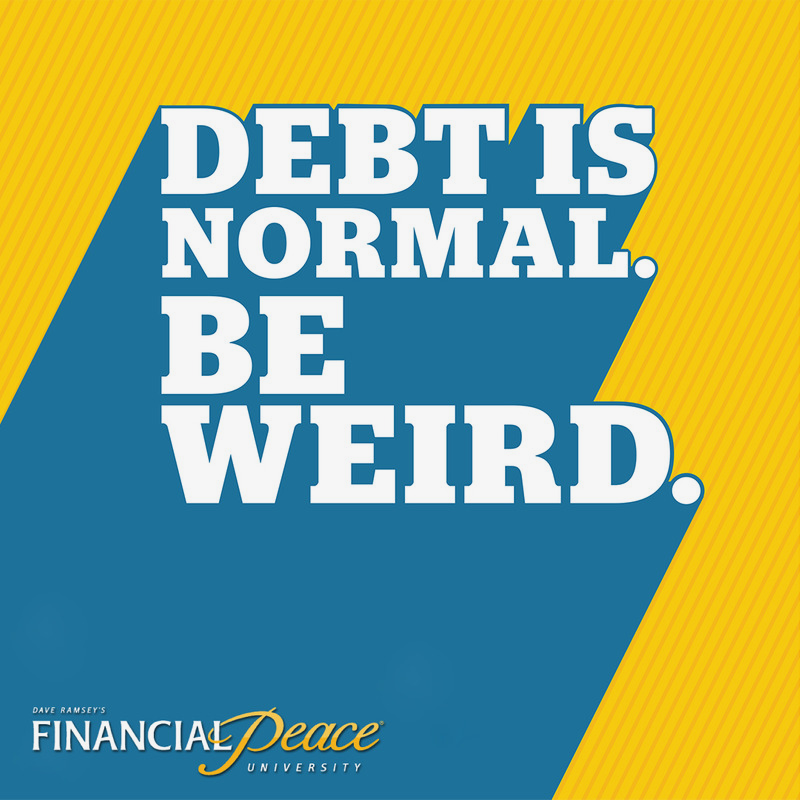 Dave Ramsey's Financial Peace University  with Bryan and Lisa Magoto meets  Sundays  at 6 p.m. at 5 70 Garbry Road, Piqua . The   cost is $99 per family   (couple or single). Learn to live like no one else, so you can live like no one else and become debt free!! Join us to change your life and to learn how living debt free can be a real thing. Contact Bryan & Lisa for more information at 937-216-1604 or lmagoto@woh.rr.com.   Men, Women Couples, Singles NO Childcare Sunday evening Off-campus location