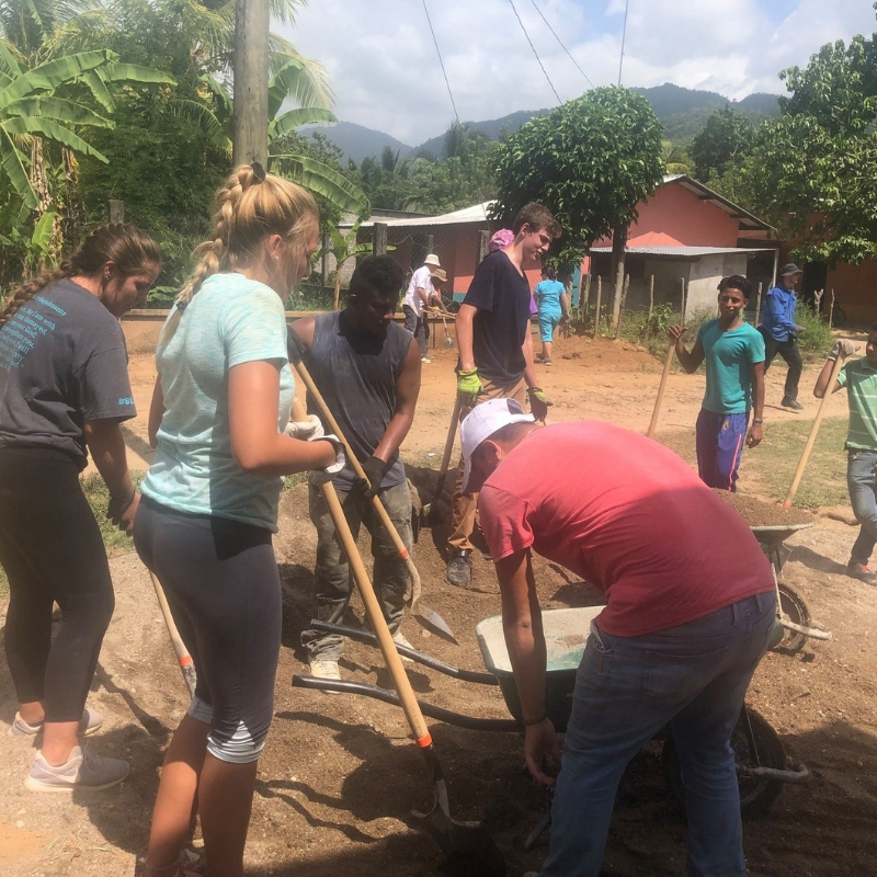 TVC mission team works alongside Hondurans on 2019 trip.