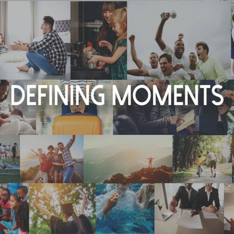 Defining Moments   October 6 - 27, 2019  4 messages in series