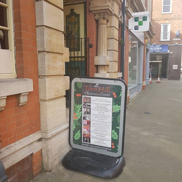 One of our designs on display outside the Town Hall in Gainsborough - part of our design service includes making sure you have branded promotional materials such as posters and leaflets to match your social media templates, as part of an overall marketing strategy 🙌 We can even run your pages for you if you just don't have the time 🙂  #socialmedia #socialmediamarketing #marketing #socialmediatips #smallbusiness #lincolnshirebusiness #smallbusinesstips #familybusiness #familyownedbusiness #webdeveloper #webdesign #canva #design #gainsborough #designideas #designers #socialmediamanager #socialmediatools #canvalove #designlife #designinspiration #smallbusinessrocks #smallbusinesslife #smallbusinesslove #seotips #socialmediacontent
