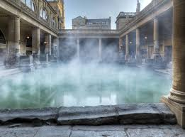 Ancient Roman bath houses used solar power