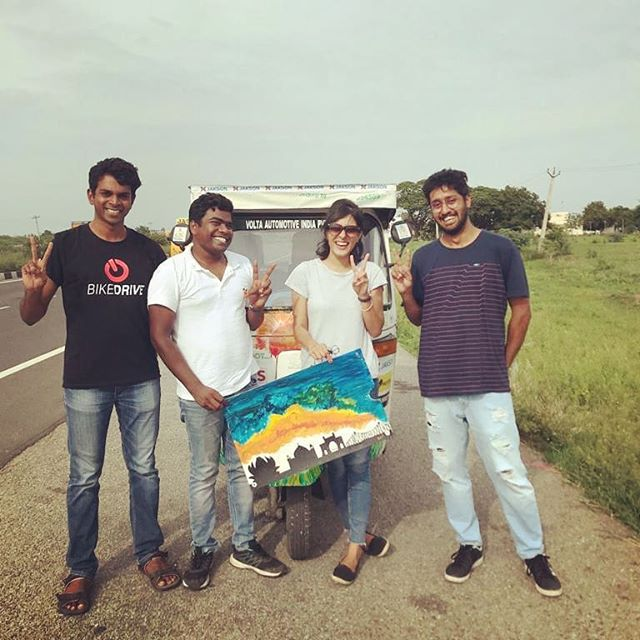 60 days. 6000+ kilometres with ZERO tailpipe emissions across India.  And memories of a lifetime with an amazing team effort!  The SunPedal Ride - Golden Quadrilateral journey on a VAIPL solar assisted retrofitted electric auto rickshaw reached Bengaluru.  We would like to thank each and everyone involved who supported the journey to make it a success for awareness and outreach of sustainability. www.sunpedalridegq.com  @yogabars.in @autobotindiaedu @delhivery_official @oorjansolar  #sustainable #thesunpedalride #sunpedalride #electric #solar #mobility #energy #India #goldenquadrilateral #auto #rickshaw