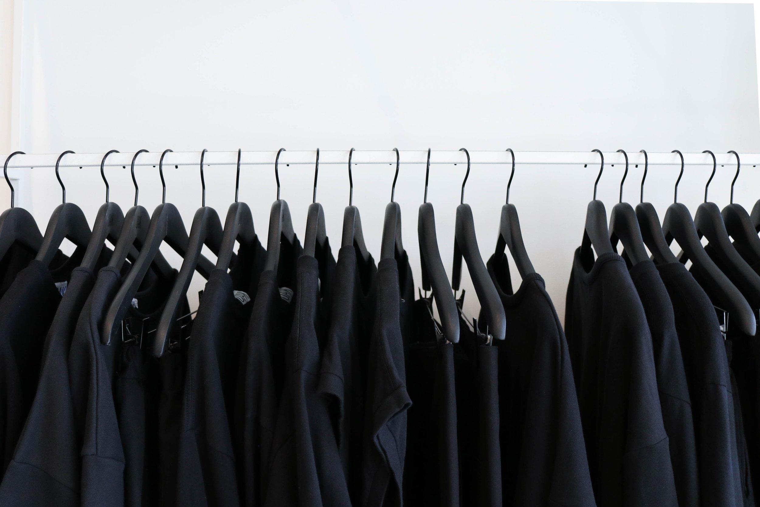 We take this clothing waste -